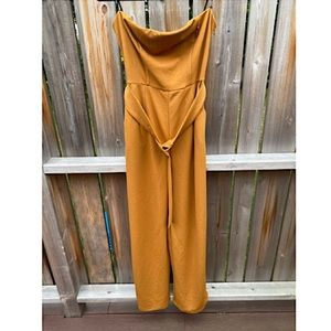 🍁 Forever 21 romper with belt, size L 🍁